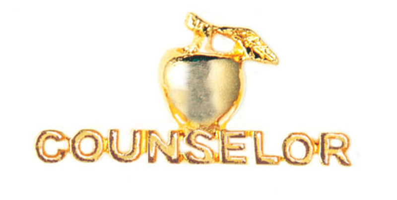 Golden Apple Counselor Lapel Pin