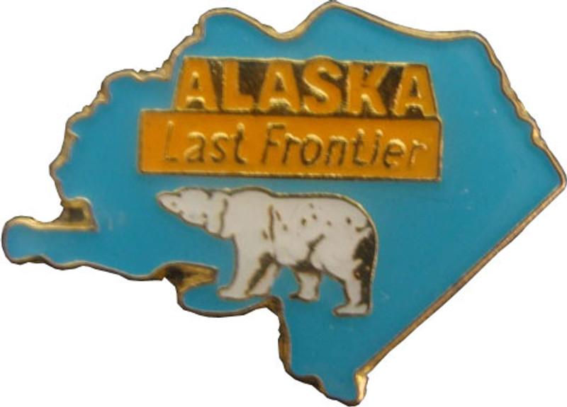 Alaska State Lapel Pin
