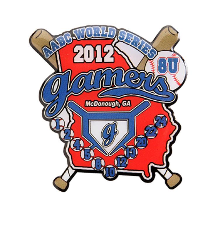 Elite Gamers RWB 8U 2012 Baseball