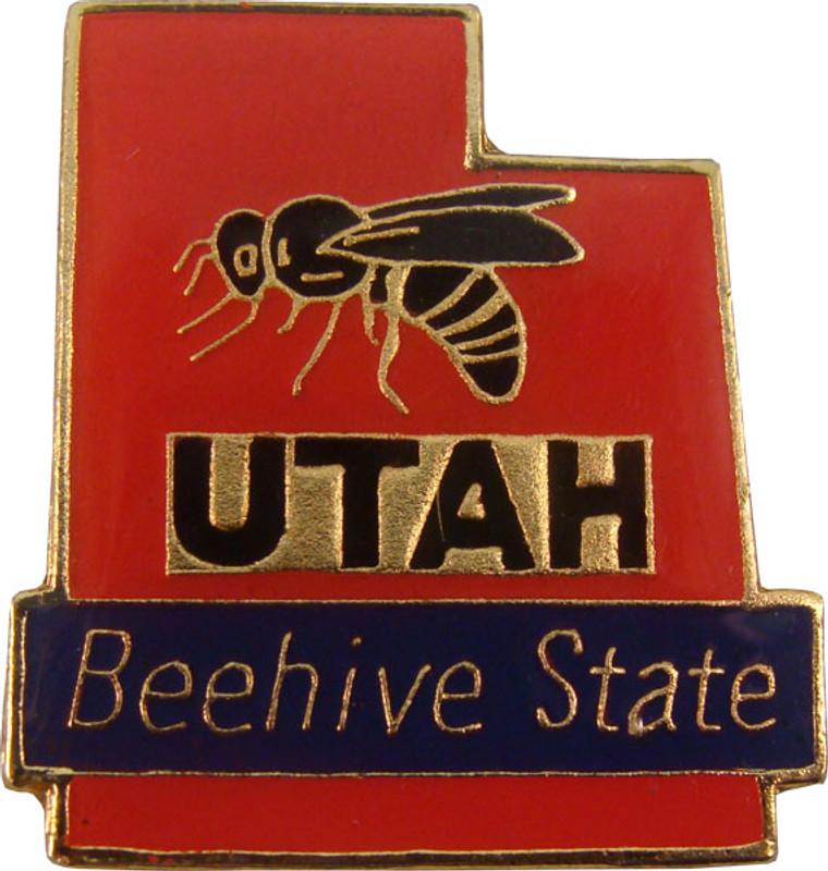 Utah State Lapel Pin