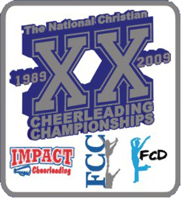 2009 FCC Nationals Cheerleading Championships pin