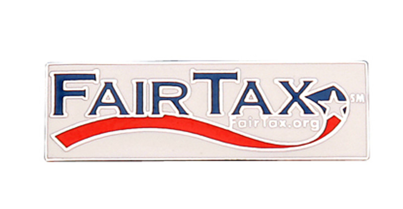 Fair Tax Lapel Pin