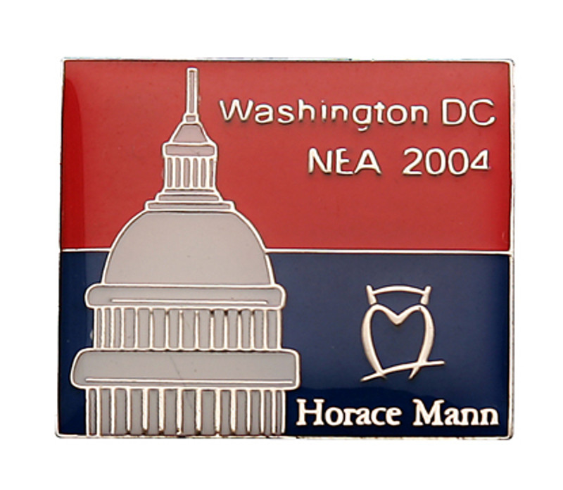 Washington DC NEA 2004 Horace Mann Lapel Pin