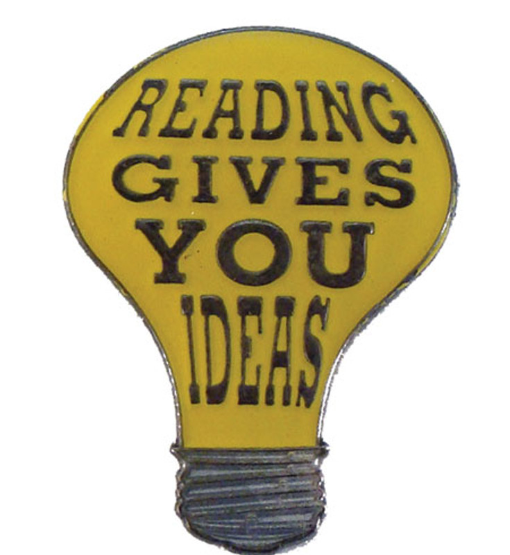 Reading Gives You Ideas Lapel Pin