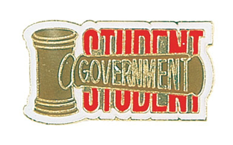 Student Government Lapel Pin