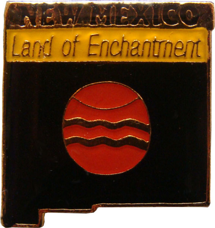 New Mexico State Lapel Pin