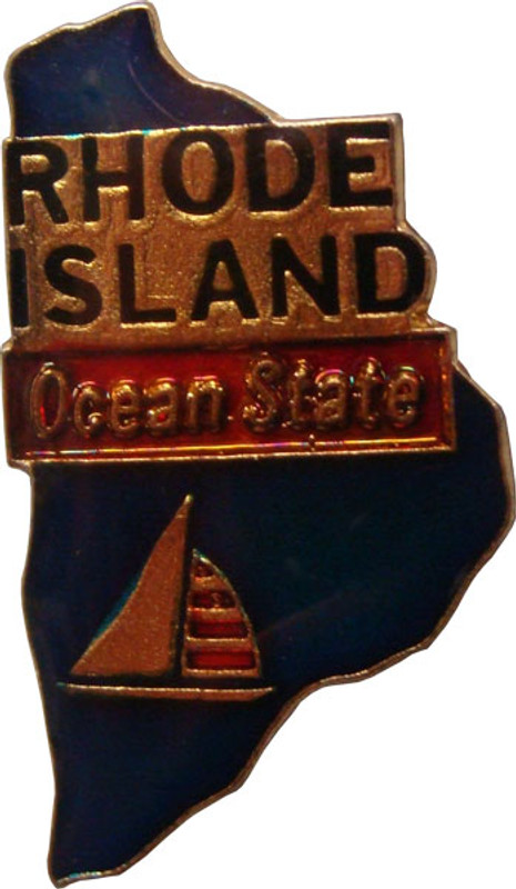 Rhode Island State Lapel Pin