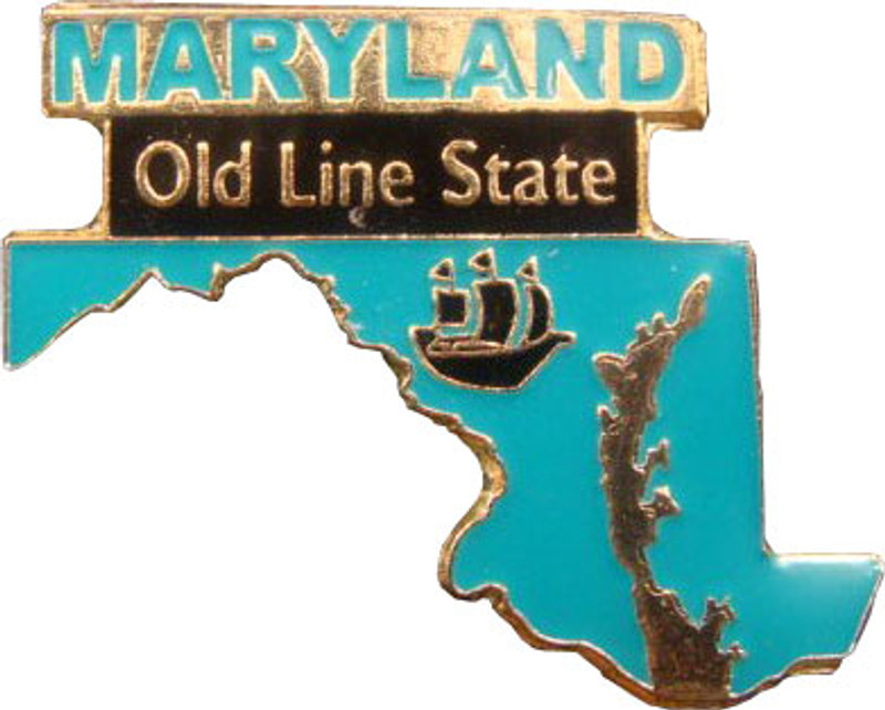 Maryland State Lapel Pin