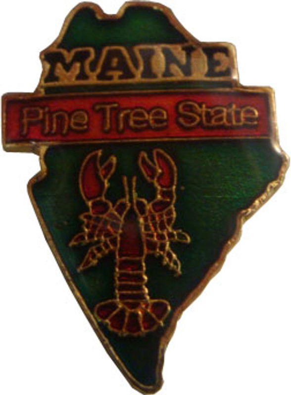 Maine State Lapel Pin