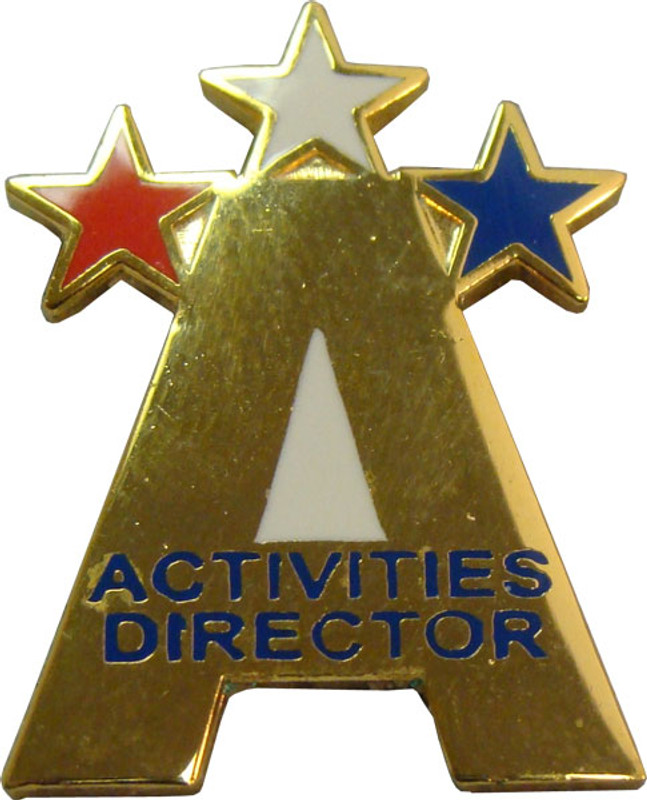 Activities Director Lapel Pin