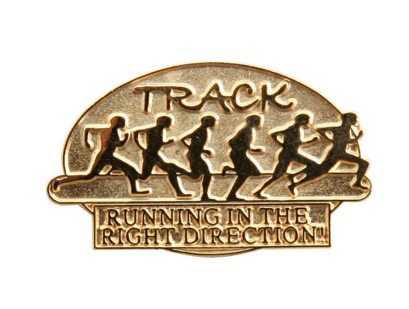 TRACK Lapel Pin