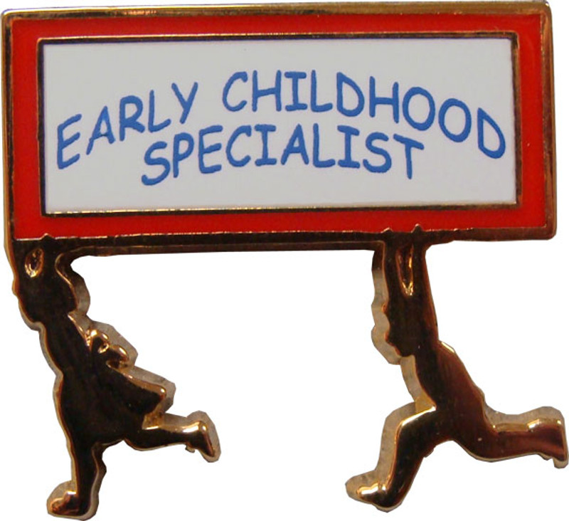 Early Childhood Specialist Lapel Pin