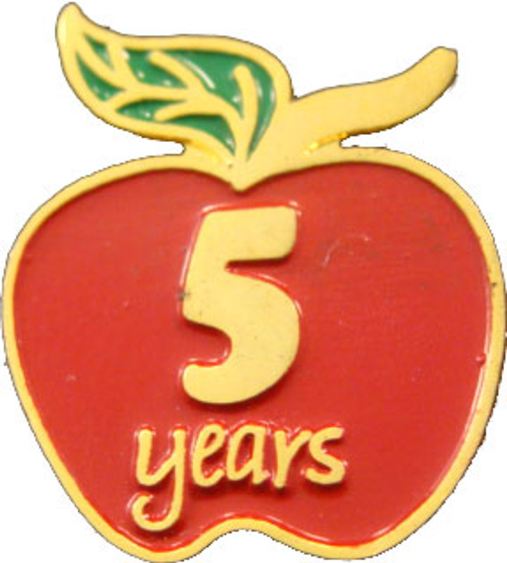 YOS (5) Apple Lapel Pin