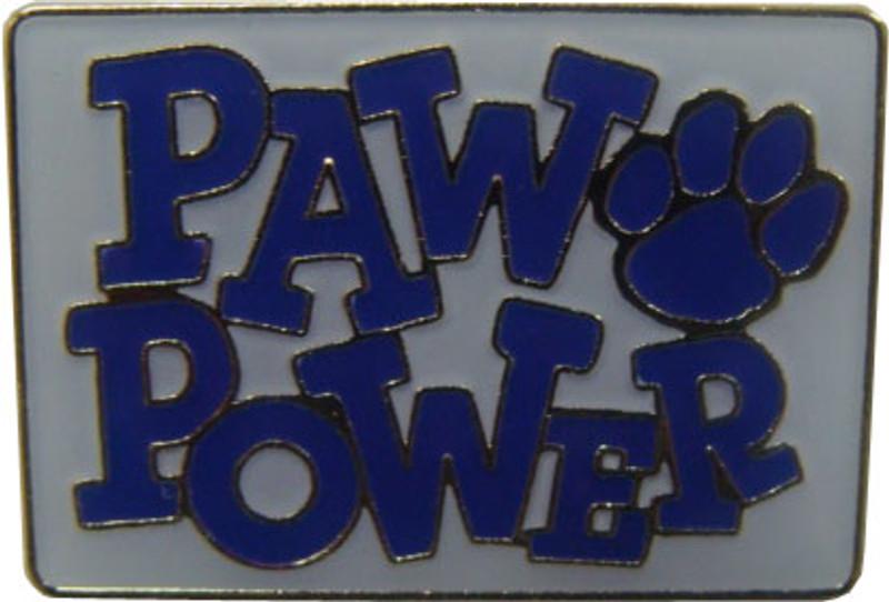 Paw Power (Blue) Lapel Pin