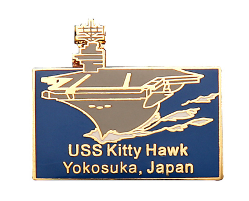 USS Kitty Hawk Yokosuka, Japan Lapel Pin