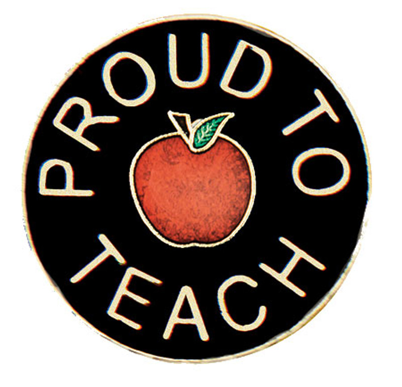 Proud to Teach Lapel Pin