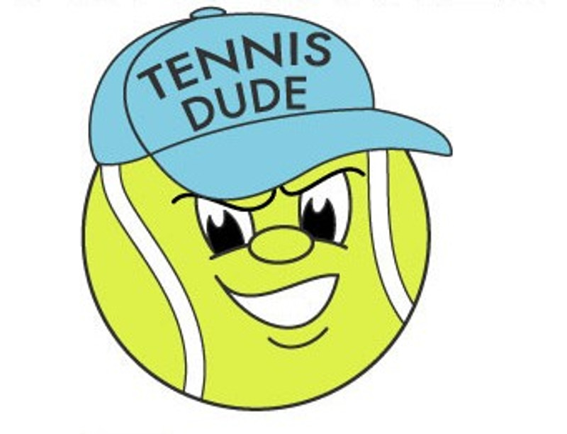 Tennis Dude Lapel Pin