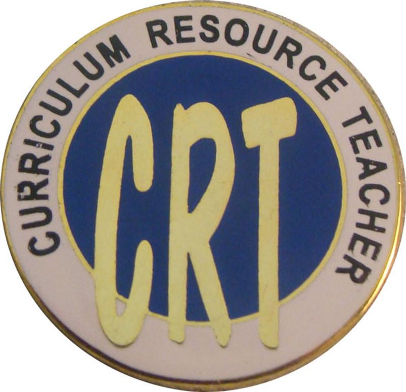 Curriculum Resource Teacher Lapel Pin