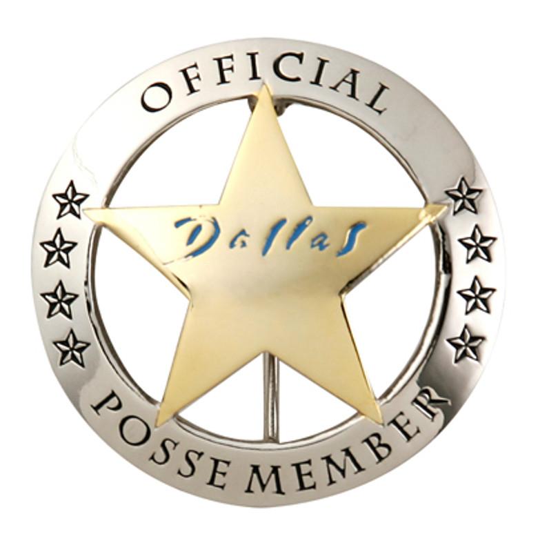 Official Dallas Posse Member Badge