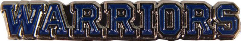 WARRIORS (blue) Lapel Pin