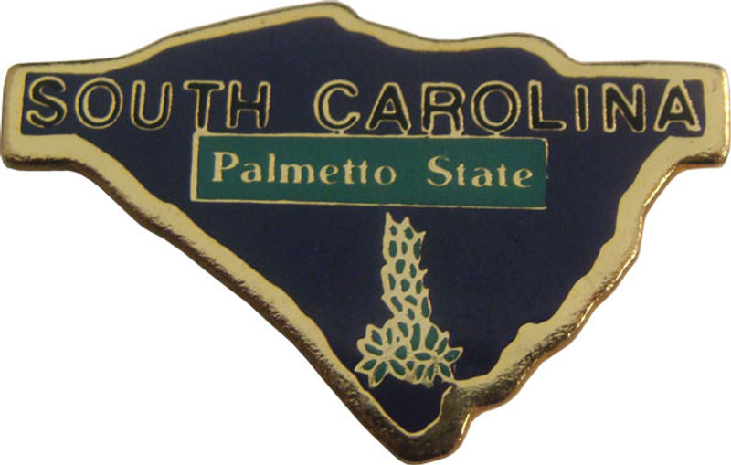 South Carolina State Lapel Pin