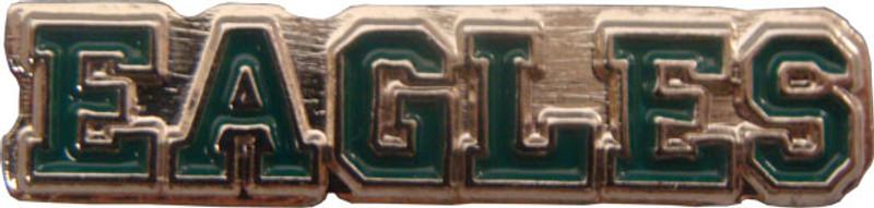 EAGLES (green) Lapel Pin