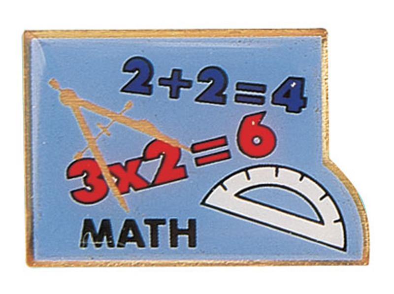 Math Lapel Pin