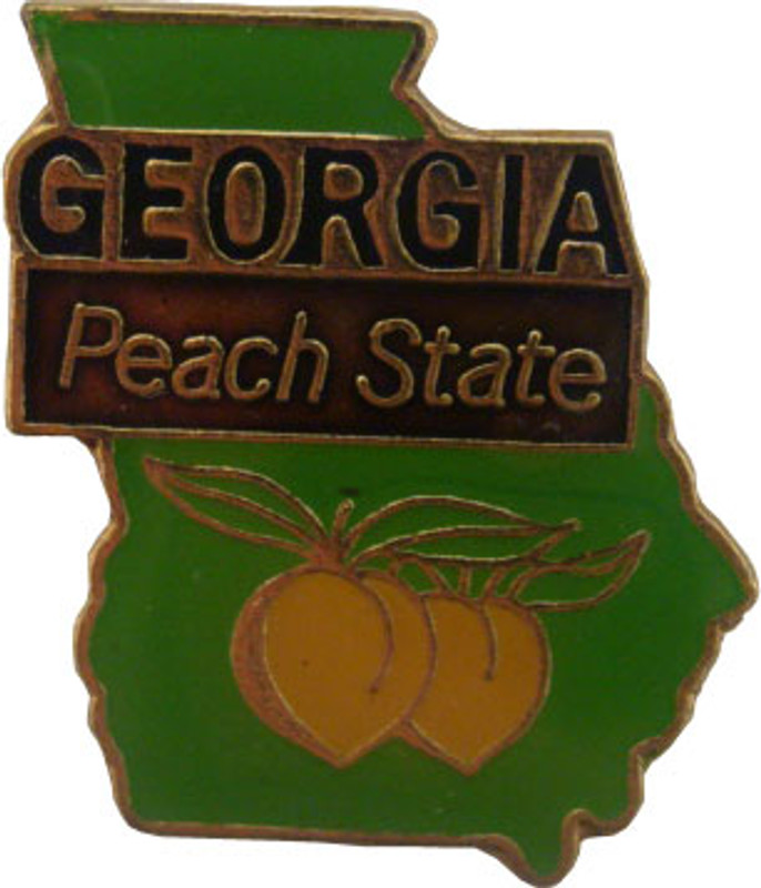 Georgia State Lapel Pin