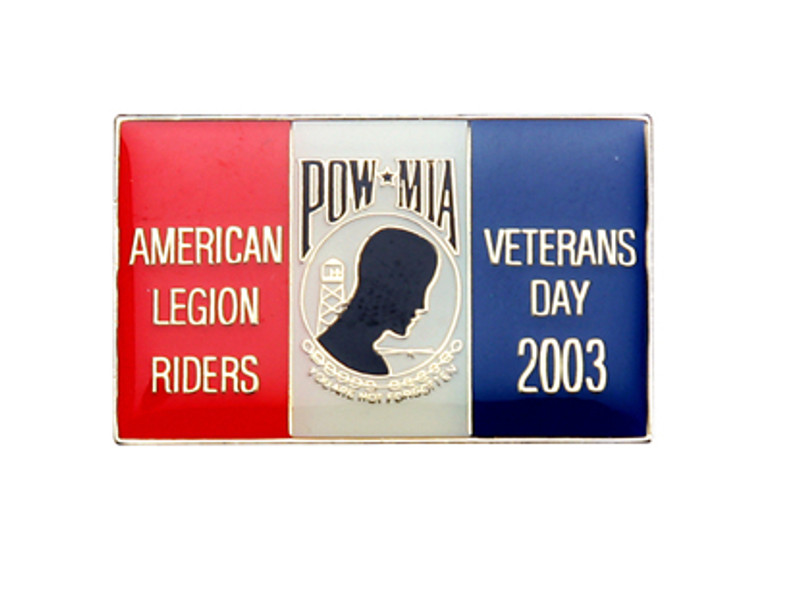 POW MIA  American Legion Riders Veterans Day 2003