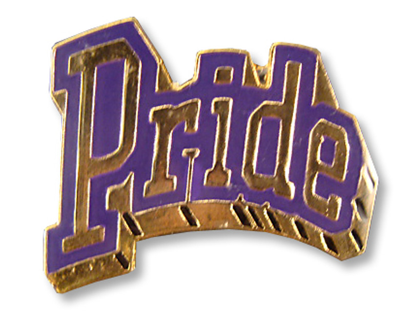 Pride (Purple) Lapel Pin