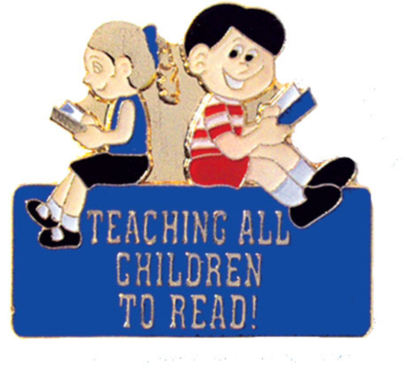 Teaching all Children to Read! Lapel Pin