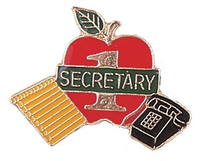 Secretary Lapel Pin