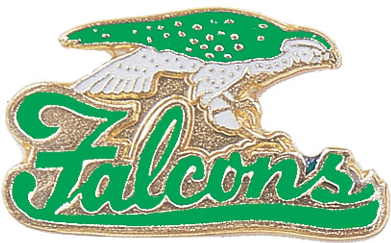 Falcons (Green) Lapel Pin
