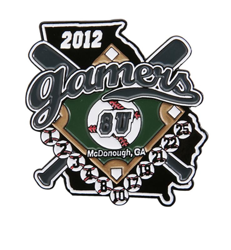 Elite Gamers Black 8U 2012 Baseball