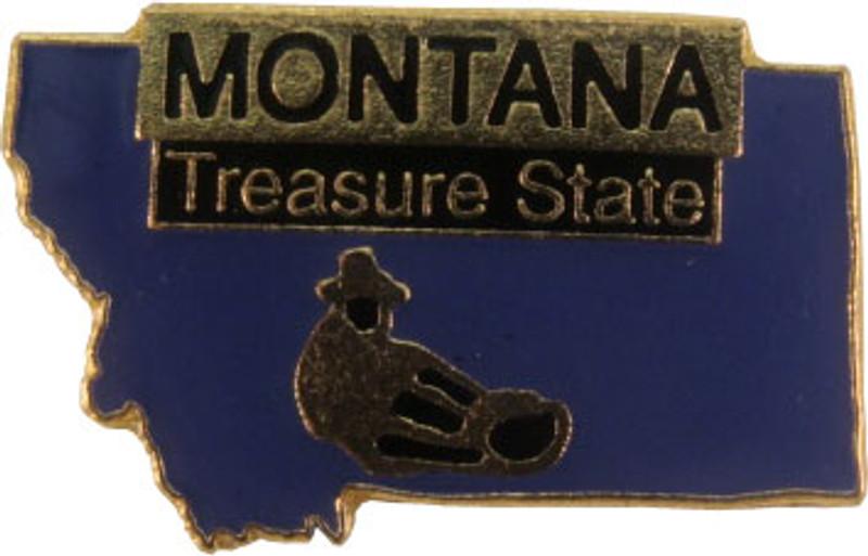 Montana State Lapel Pin