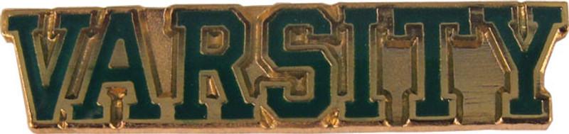 Varsity (green) Lapel Pin