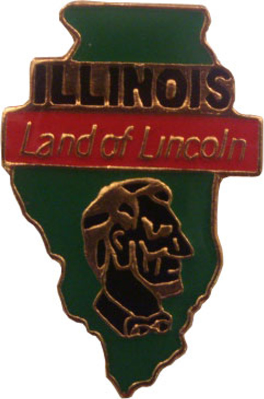 Illinois State Lapel Pin