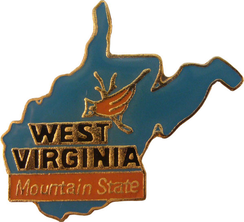 West Virginia State Lapel Pin