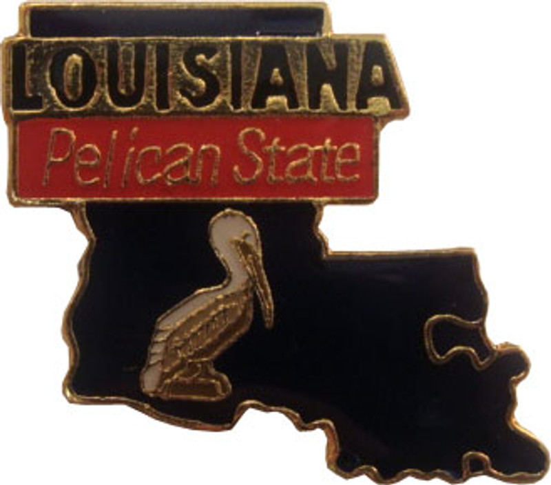 Louisiana State Lapel Pin