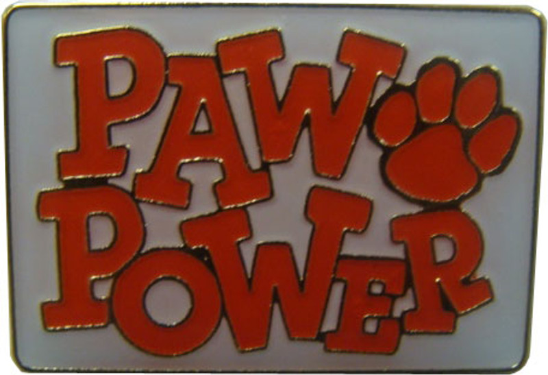 Paw Power (Red) Lapel Pin