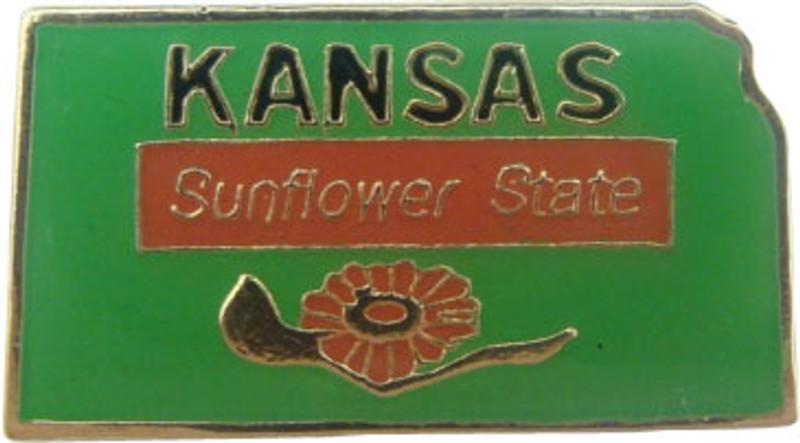 Kansas State Lapel Pin