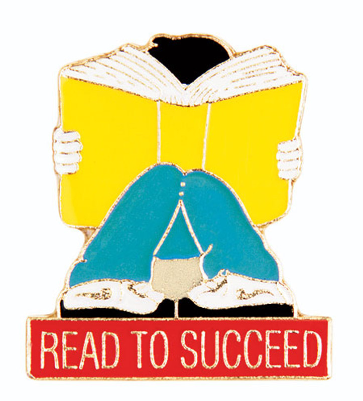 Read To Succeed Lapel Pin