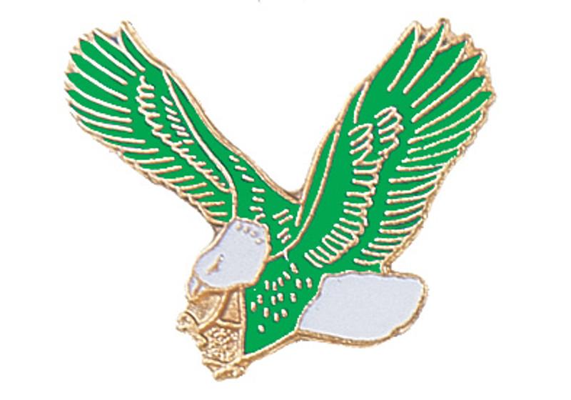 Eagle (Green) Lapel Pin