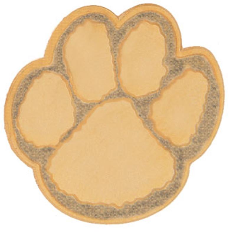Paw Print (2-tone gold) Lapel Pin