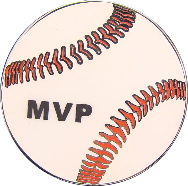 Baseball - MVP Lapel Pin