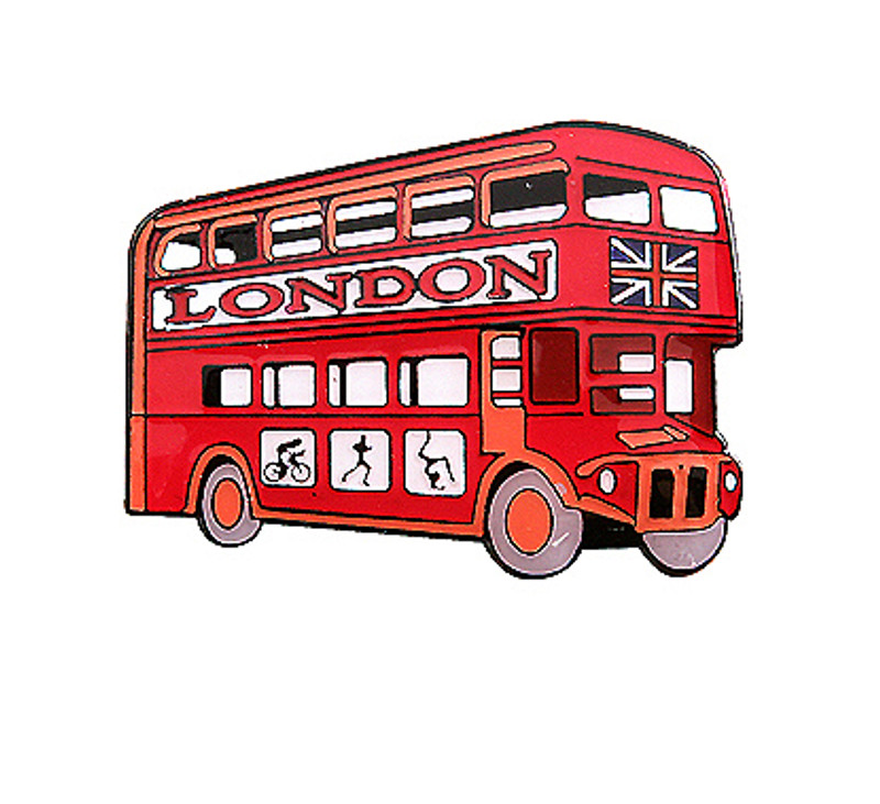 London Double Decker Bus Olympics 2012