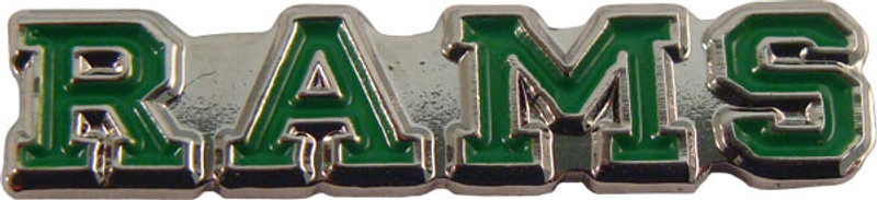 RAMS (green) Lapel Pin