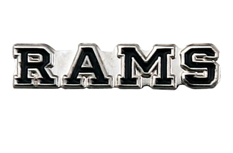 RAMS (black) Lapel Pin