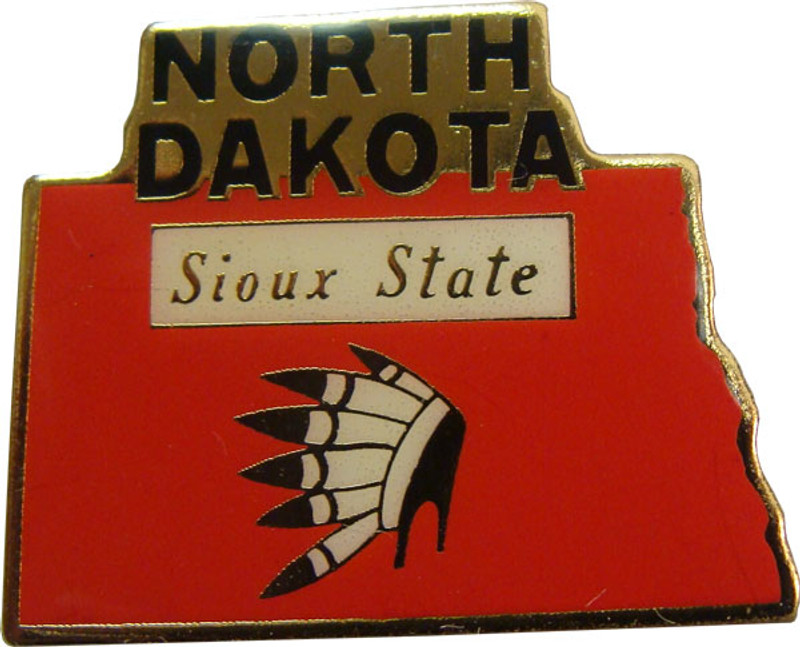 North Dakota State Lapel Pin