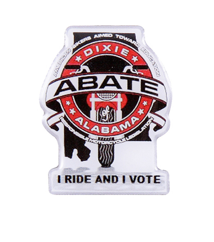 ABATE Alabama - I Ride and I Vote